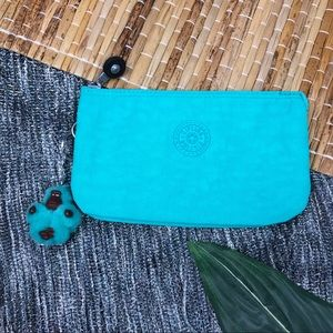 Kipling Creativity Large Teal Pouch